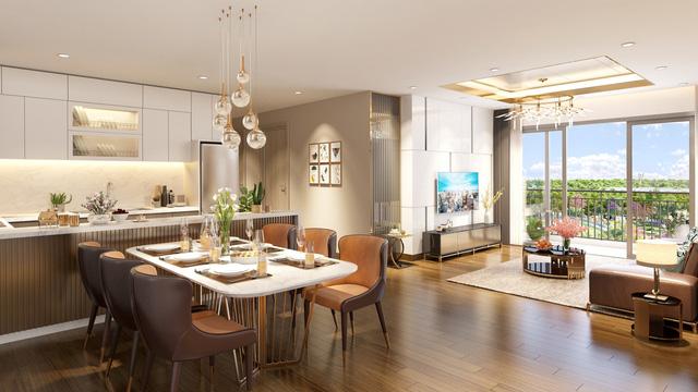 Nội thất căn hộ Eco-Green Saigon sang trọng hàng đầu thế giới.