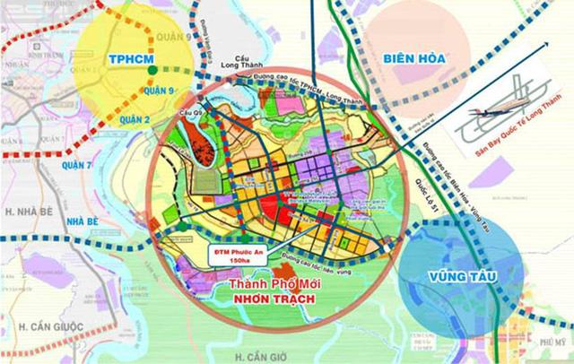 Khởi công tuyến đường Vành Đai 3, tiềm năng Nhơn Trạch trở thành quận 13, TP.HCM