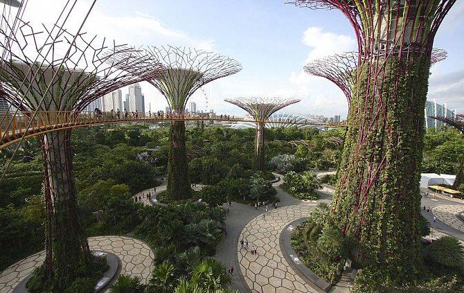 Vincity Grand Park - Thành phố của những công viên phong cách Singapore