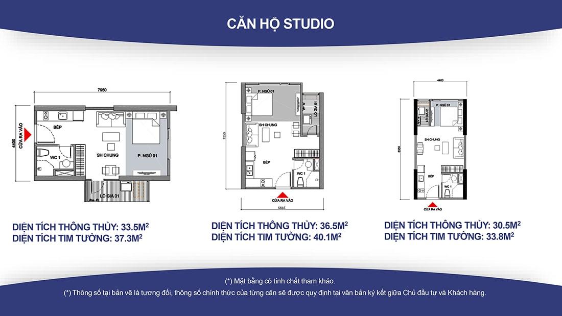 Thiết kế căn hộ Vinhomes