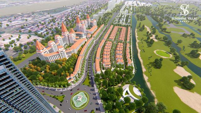 Sunshine Wonder Villas, dự án biệt thự công nghệ nằm trong quần thể sân Golf Ciputra, một trong số các bộ sưu tập biệt thự sinh thái nghỉ dưỡng nội đô của Sunsine Group.