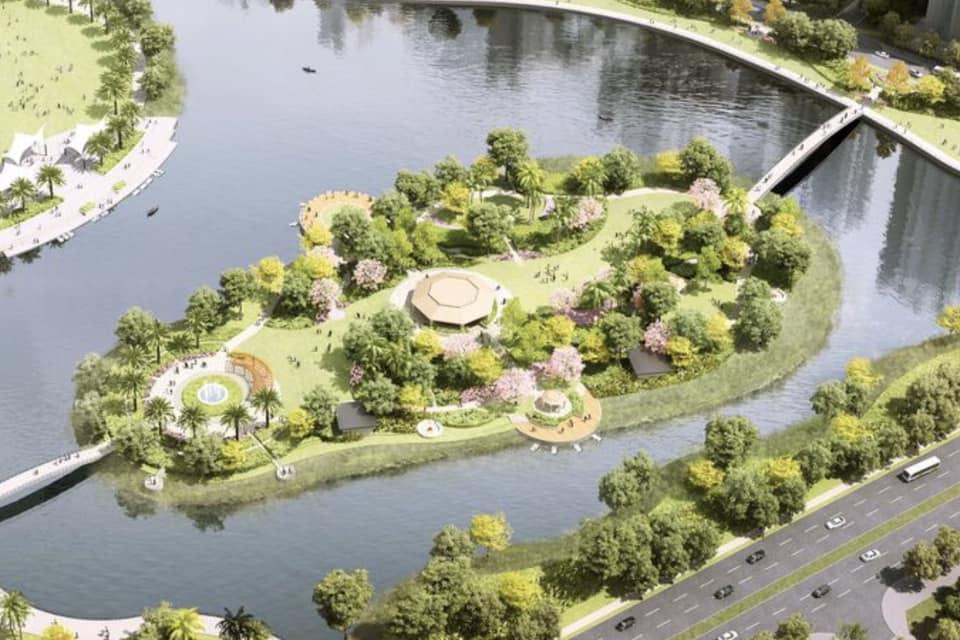 VinCity Grand Park sở hữu công viên Grand Forest lớn nhất Đông Nam Á
