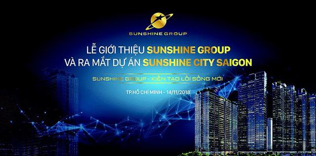 Giới thiệu Sunshine Group và chính thức ra mắt Sunshine City Saigon