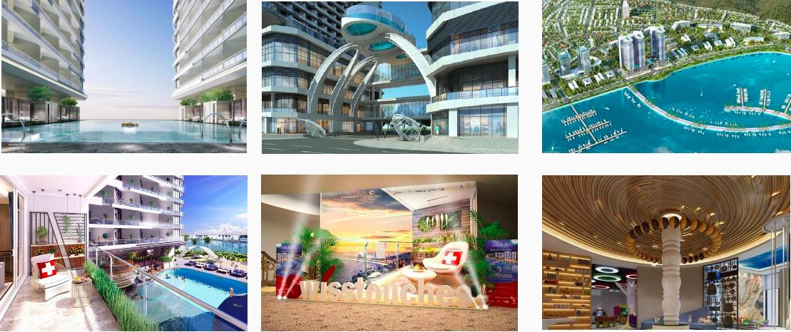 Hình ảnh dự án Swisstouches La Luna Resort Nha Trang