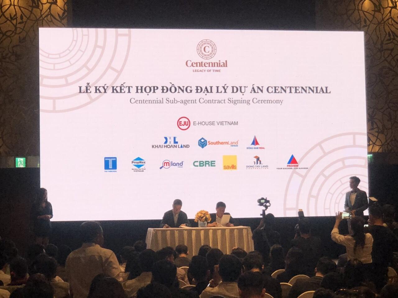 Lễ ký kết hợp tác phân phối dự án Centennial Ba Son
