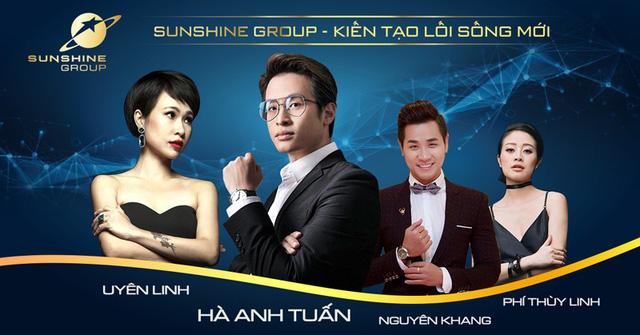 Ra mắt Sunshine Group với màn phô diễn công nghệ và ánh sáng ấn tượng