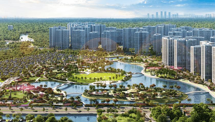 Công viên Grand Forest sẽ là điểm đến lý tưởng của cư dân Sài Gòn