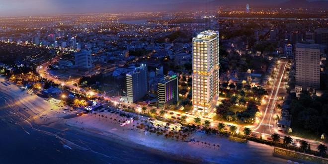 Condotel TMS Luxury Hotel Danang Beach - Ngắm nhìn vẻ đẹp sông Hàn