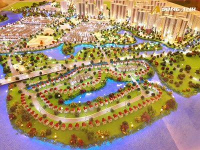 Mô hình sa bàn dự án VinCity Grand Park Quận 9
