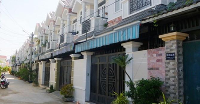 thị trường nhà phố khu vực trung tâm Sài Gòn