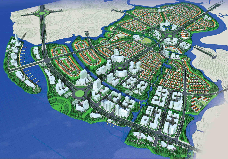 Khu đô thị Đồng Nai Waterfront City - Dreamland City.