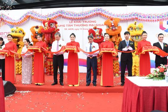 Khai trương trung tâm thương mại mại Gigamail Phạm Văn Đồng, Thủ Đức