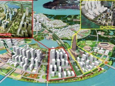 qui mô dự án Eco Smart City Thủ Thiêm