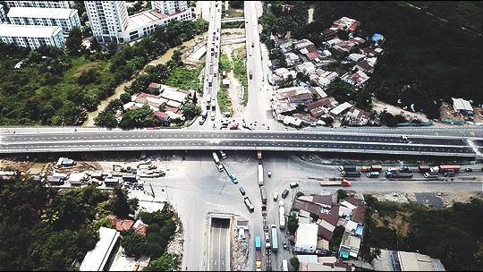 cầu vượt mỹ thuỷ