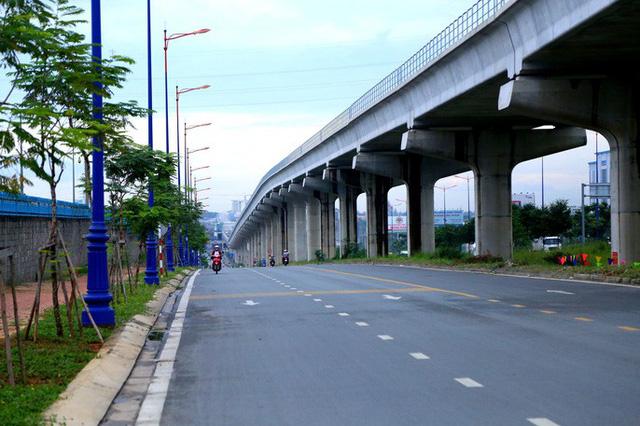 Đường song hành và metro số 1