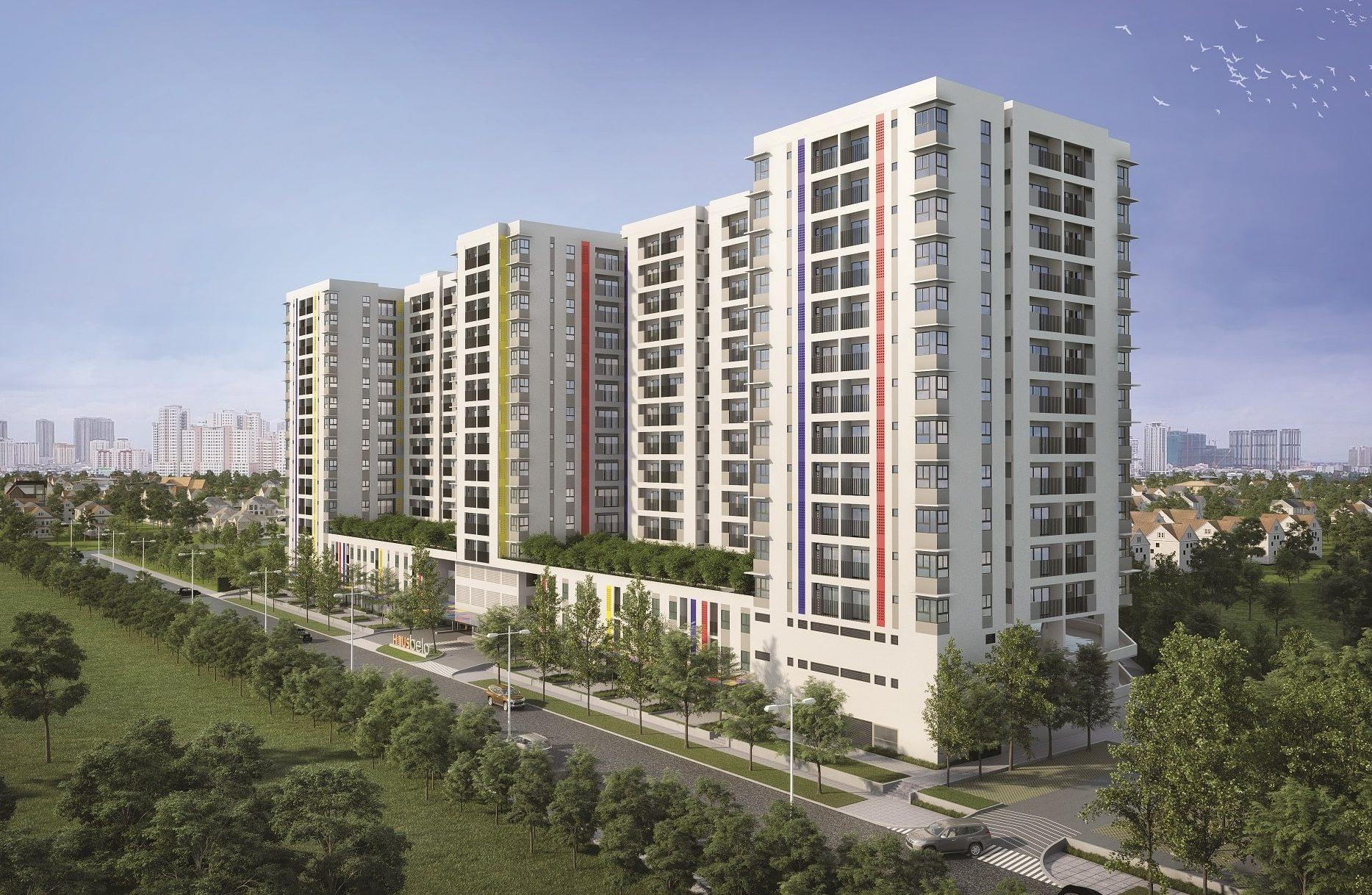 dự án căn hộ Hausvivi lò lu quận 9