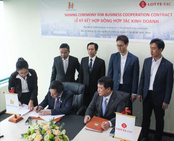 Hưng Lộc Phát hợp tác Lotte
