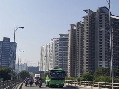 bất động sản khu Nam Sài Gòn tăng giá