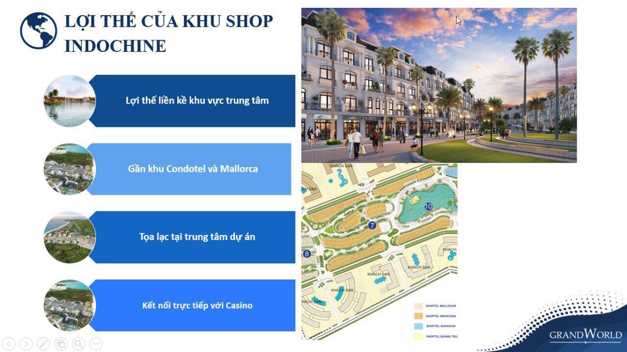Khu Shop Đông Dương - The Indochine: