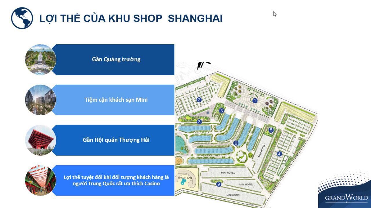 Ưu điểm khu Shop Thượng Hải - The Shanghai
