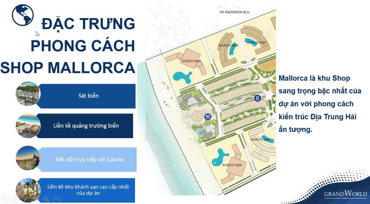 lợi thế Khu ShopĐịa Trung Hải - The Mallorca