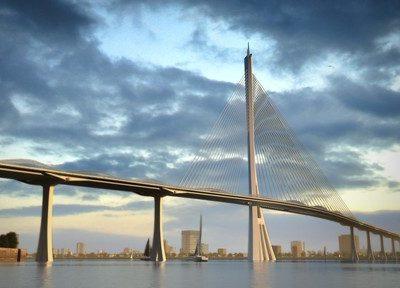 xây dựng cầu cần giờ