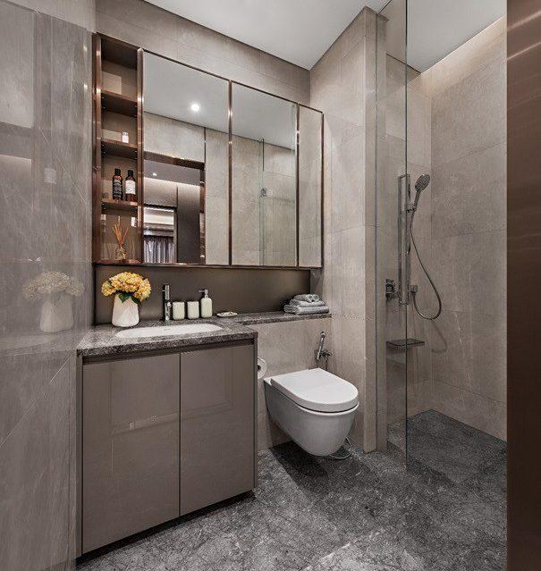 Nhà tắm căn hộ the marq