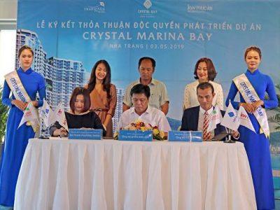 Crystal Bay ký kết công bố đơn vị phát triển dự án Crystal Marina Bay Nha Trang