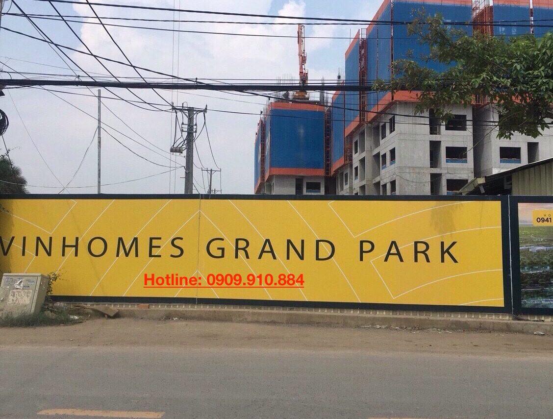 triển khai vinhomes grand park