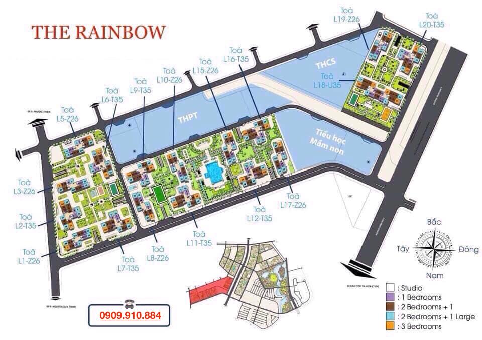 căn hộ the rainbow