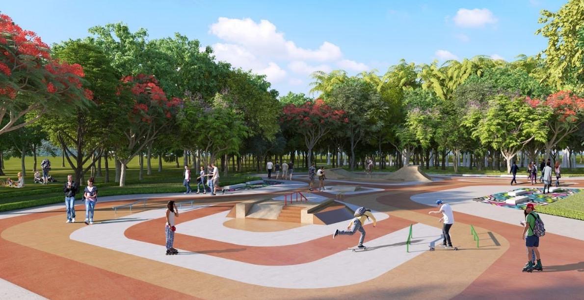 công viên vinhomes quận 9