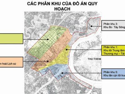 quy hoạch số tầng trung tâm tp hcm