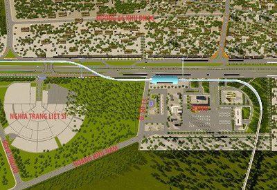 hướng tuyến cầu vượt bến xe miền đông mới quận 9