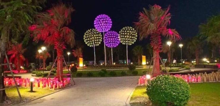 vườn ánh sáng vinhomes grand park