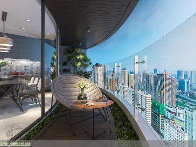 thiết kế căn hộ Sunshine