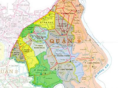 quy hoạch dự án quận 9