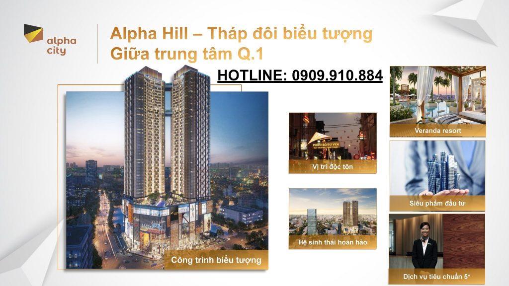 căn hộ Alpha Hill Quận 1