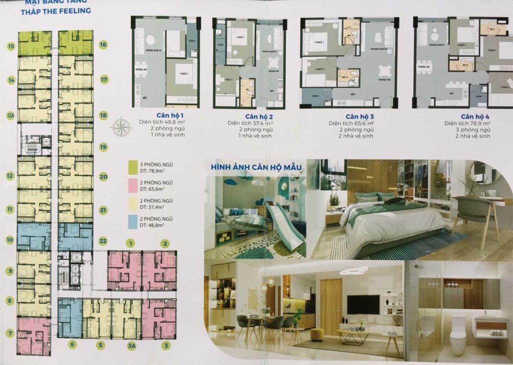 thiết kế căn hộ Picity High Park