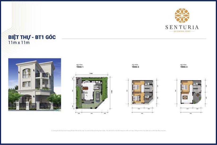 thiết kế Biệt thự Senturia Q9 Central Point