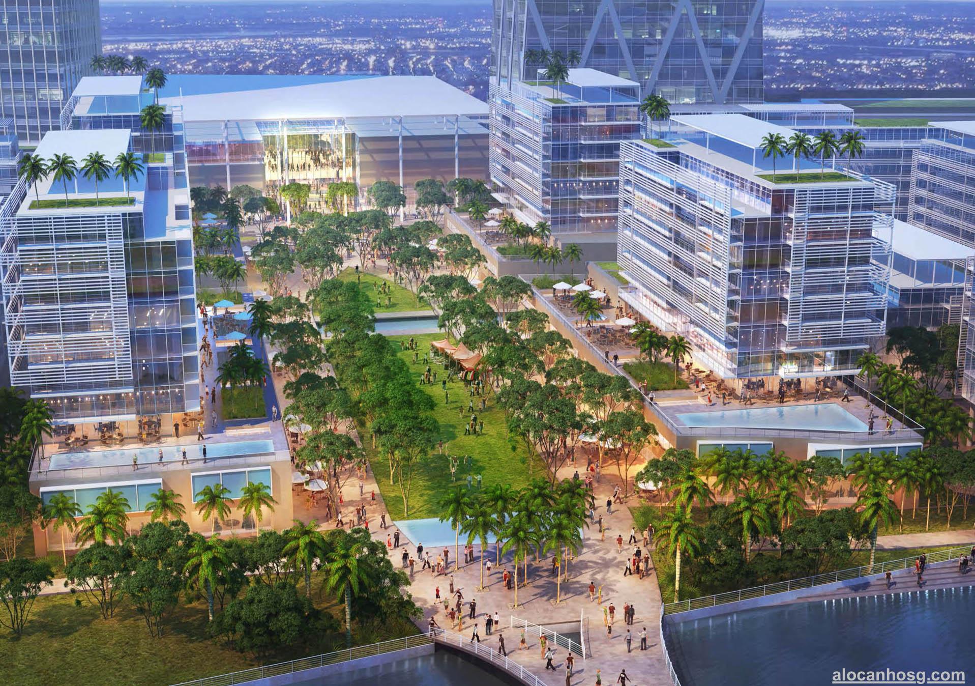 thiết kế dự án River City Thủ Đức