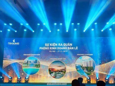 Phòng kinh doanh bán lẻ Vinhomes chính thức ra mắt tại Hà Nội