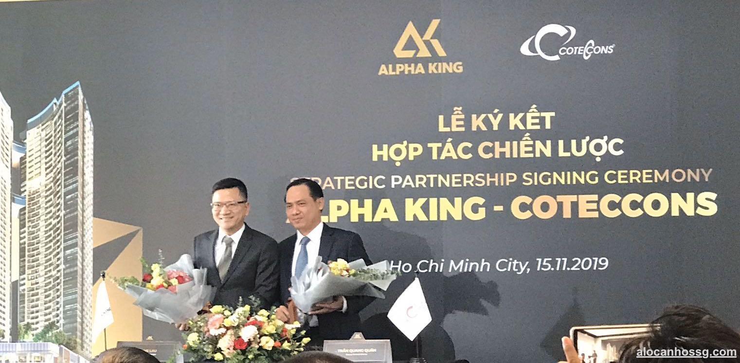 Alpha King hợp tác chiến lược cùng Coteccons