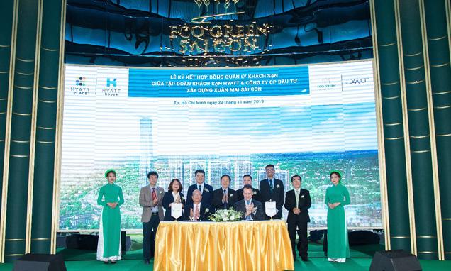Xuân Mai Sài Gòn hợp tác cùng Hyatt Hotels