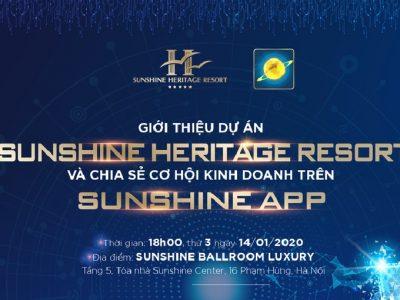 ra mắt dự án Sunshine Heritage Resort