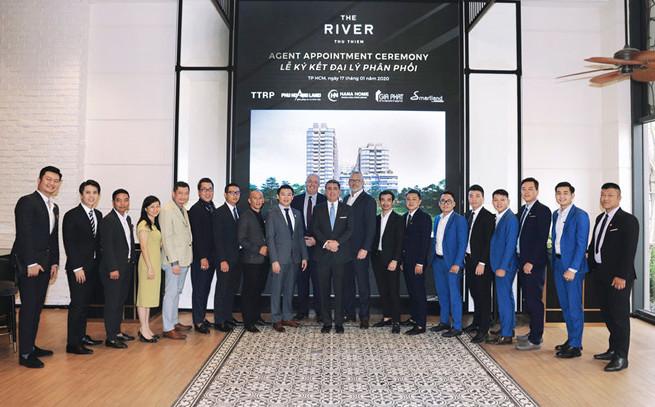 ký kết đại lý phân phối dự án The River - Thu Thiem