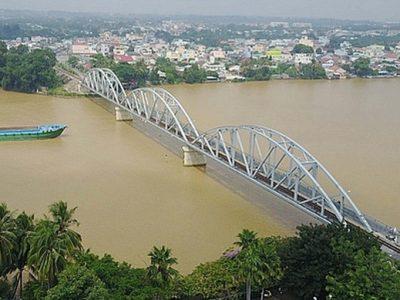 đường ven sông Đồng Nai, TP. Biên Hòa