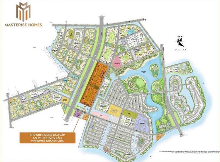 Dự án Masterise Grand Park Quận 9