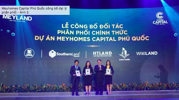 đại lý ễ ra mắt chính thức dự án Meyhomes Capital Phú Quốc