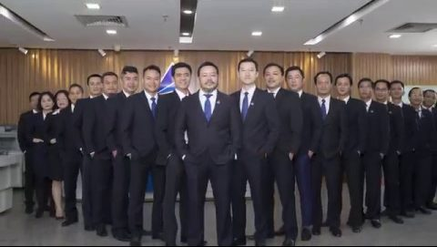 Lãnh đạo tập đoàn Đất Xanh Group
