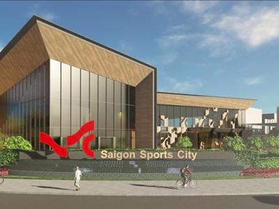 khu nhà mẫu Saigon Sport City